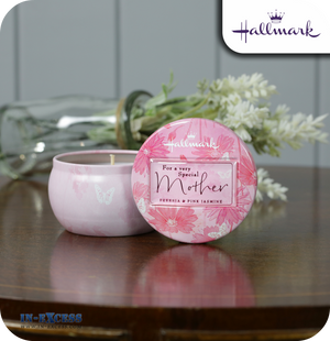 Hallmark Gifts Scented Candle Tin Special Mother - Freesia & Pink Jasmine