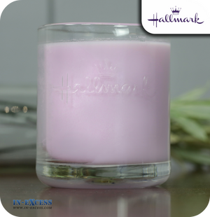 Hallmark Scented Glass Candle Especially For You Gift Set - Sweet Violet & Ylang Ylang