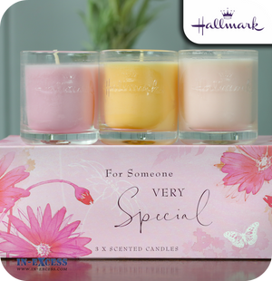 Hallmark Gifts Scented Glass Candles Someone Special - Mixed Gift Set