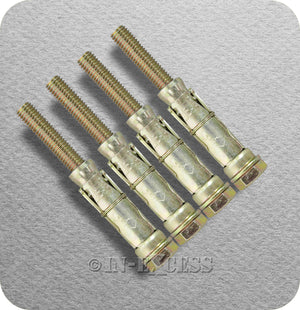 Solid Wall Anchor Bolt Heavy Weight Fixing - M10 x 105mm