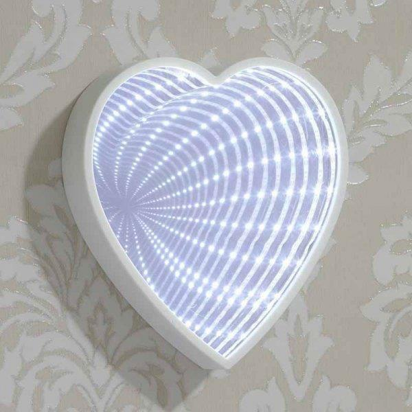Heart Galaxy Mirror - Tunnel Light Effect Optical Illusion