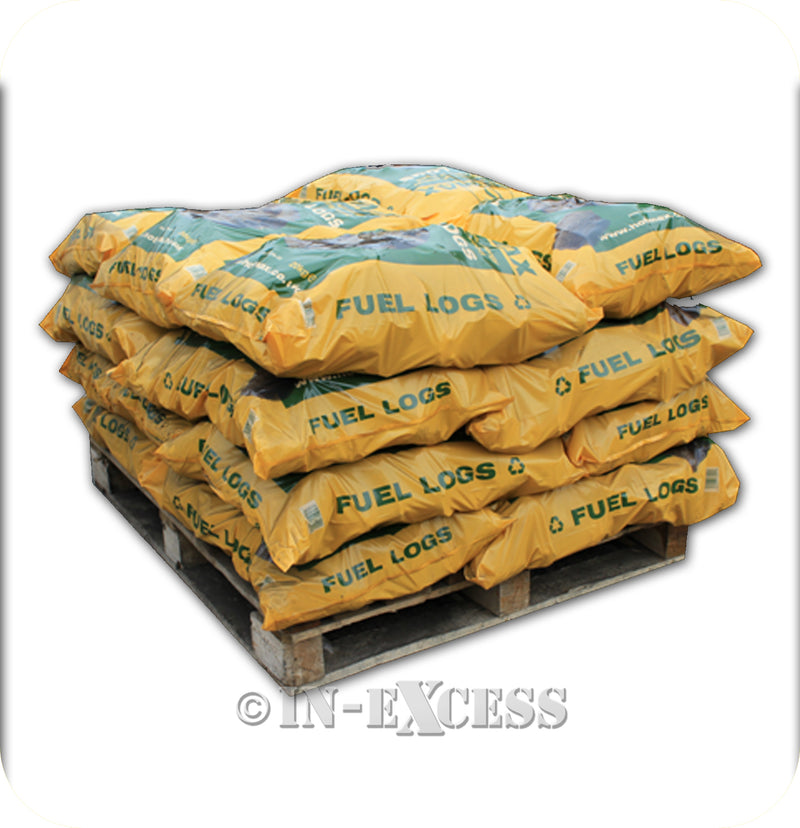 Hotmax Wood Burner Heat Fuel Burning Logs - 10kg Bag