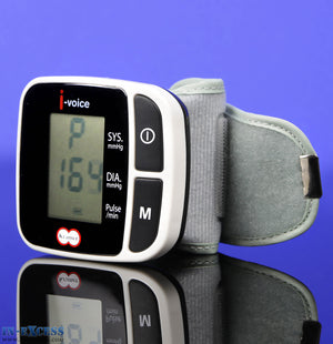 Kramer I-Voice Automatic Talking Digital Wrist Blood Pressure Monitor
