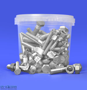 In-Excess Assorted Loose Hardware 3.0kg Tub