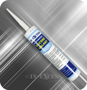 In-Excess All Purpose Silicone Sealant - 310ml White