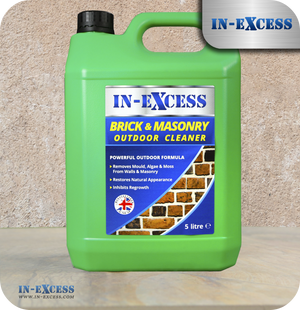In-Excess Brick and Masonry Outdoor Cleaner - 5 Litres
