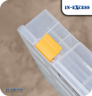 In-Excess Clear Toolbox & Organiser Storage Box - 13""
