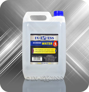 In-Excess Car Battery & Steam Iron De-Ionised Water - 5 Litres