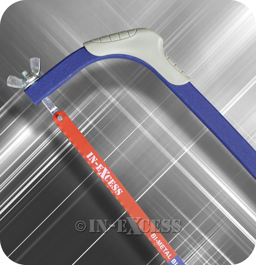"In-Excess Excel Hacksaw With Bi-Metal Hacksaw Blade 24TPI - 305mm (12"")"
