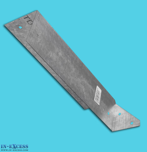 Galvanised Arris Rail Bracket - Fence Support Brace