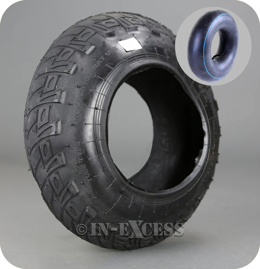 In-Excess Hardware Replacement Rubber Wheelbarrow Tyre Tube - 4.00-8""
