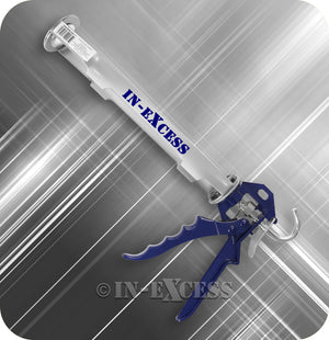 "In-Excess Heavy Duty Cartridge Sealant Silicone Mastic Caulk Caulking Gun - 280mm (11"")"