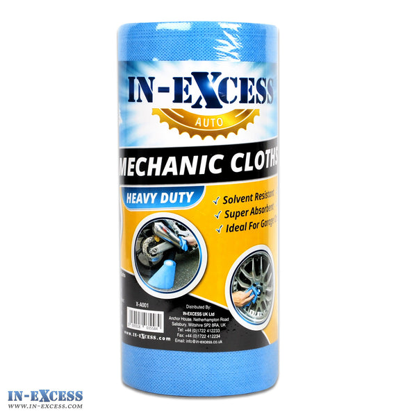 In-Excess All Purpose Cleaning Cloths, Roll of Mechanic Cloth Pack of 80