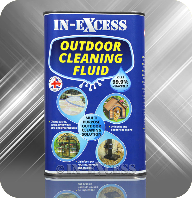 In-Excess Outdoor Cleaning Fluid - 1 Litre