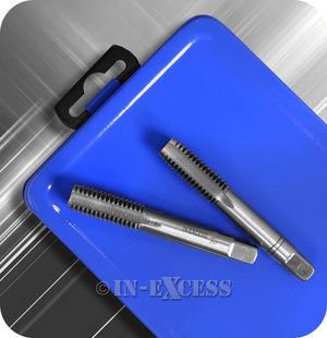 In-Excess Metric M3 - M12 Tap, Second & Plug Alloy Steel Set - Set of 21 Pieces