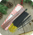 Fragranced Room Aroma Incense Sticks With Wooden Holder Sugared Berries - Pack of 60 Pieces