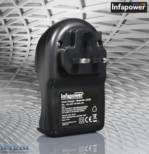 Infapower C010 Home Plug In Battery Charger AAA AA 9V Rechargeable
