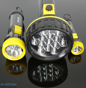 Inlec High Power 3 Piece LED Torch And Lantern Set.100,40,20 Lumens
