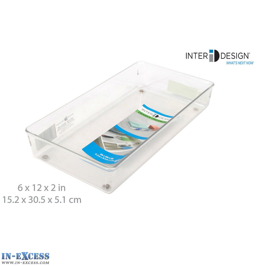 InterDesign Drawer Organiser Divided Drawer Tray for kitchen, Bathroom & Garage