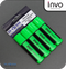 INVO Chisel Tip Highlighters Green Ink - Pack of 4
