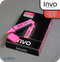 INVO Chisel Tip Highlighters Pink Ink - Pack of 12