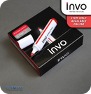 INVO Drywipe White Board Marker Pens Red Ink - Pack of 12