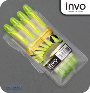 INVO Liquid Ink Highlighter Yellow Ink - Pack of 4