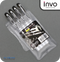 INVO Liquid Ink Pen Black Ink - Pack of 4