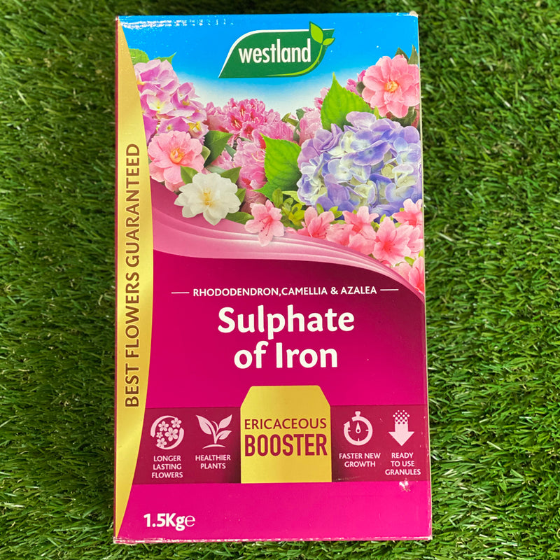 Westland Sulphate of Iron Ericaceous Booster - 1.5kg