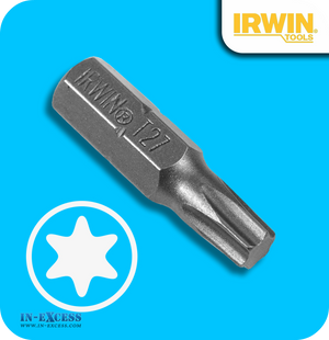 "Irwin 1/4"" Insert Drill Bit Torx T27 - Pack of 50"