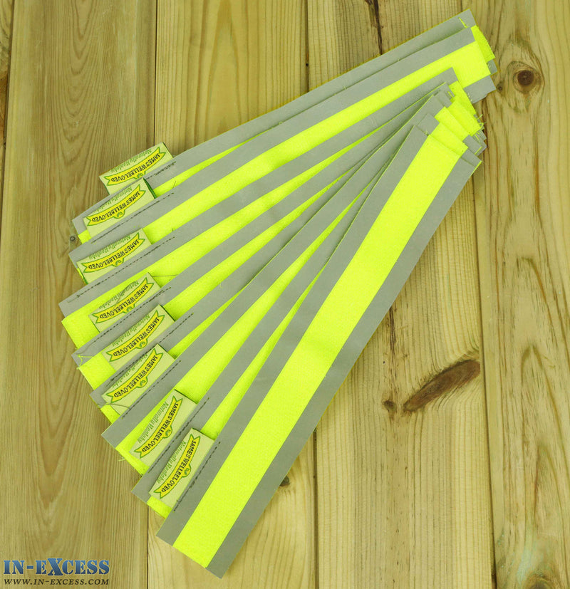 James Wellbeloved 8 Fluorescent Velcro Animal Strips