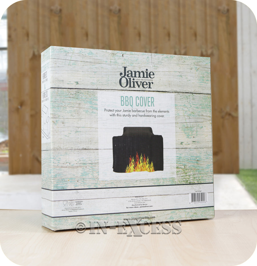 Jamie Oliver BBQ UV Protected Perfect Fit Outdoor Cover - Home 3 & 3S BBQ