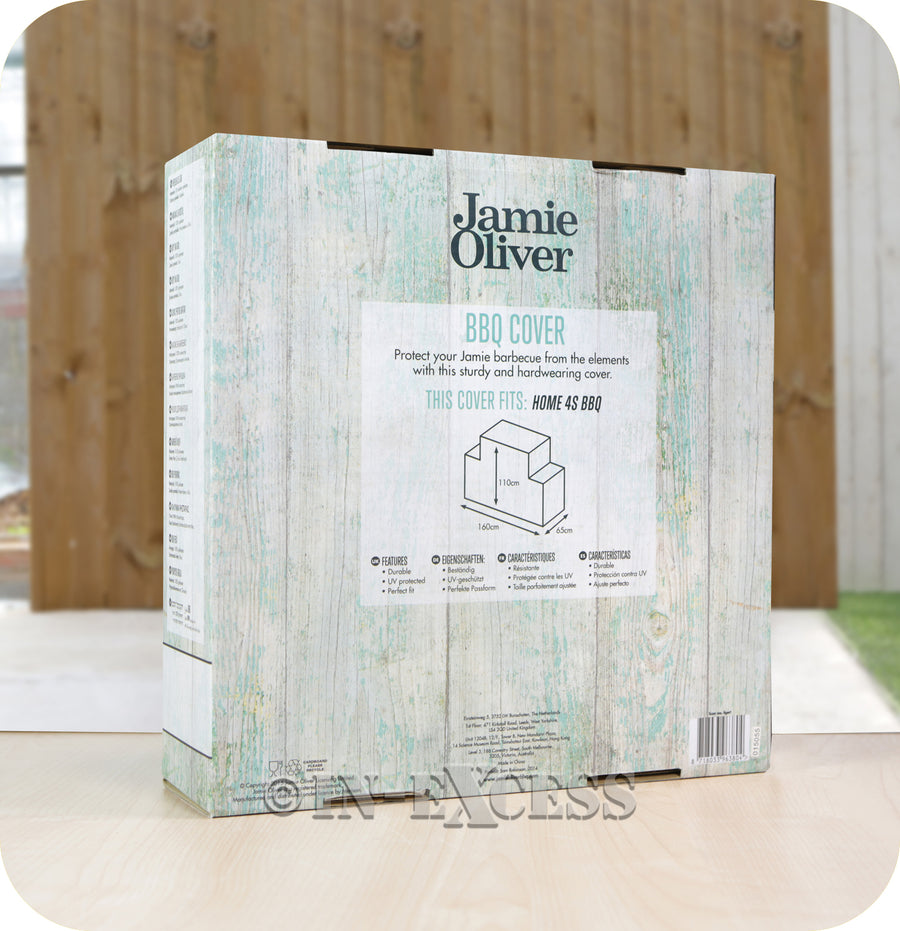 Jamie Oliver BBQ UV Protected Perfect Fit Outdoor Cover - Home 4S BBQ