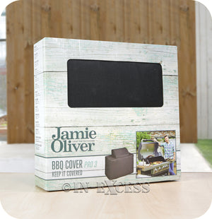 Jamie Oliver BBQ UV Protected Perfect Fit Outdoor Cover - Pro 3 BBQ