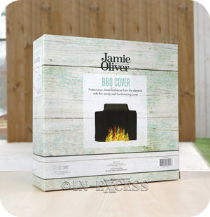 Jamie Oliver BBQ UV Protected Perfect Fit Outdoor Cover - Pro 4 BBQ (Flames)