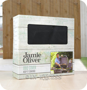 Jamie Oliver BBQ UV Protected Perfect Fit Outdoor Cover - Pro 6 BBQ (Flames)