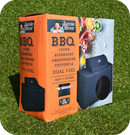 Jamie Oliver BBQ UV Protected Perfect Fit Outdoor Cover - Dual Fuel BBQ