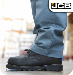 JCB Women's Workwear Trousers - Steel Blue (JA00024)