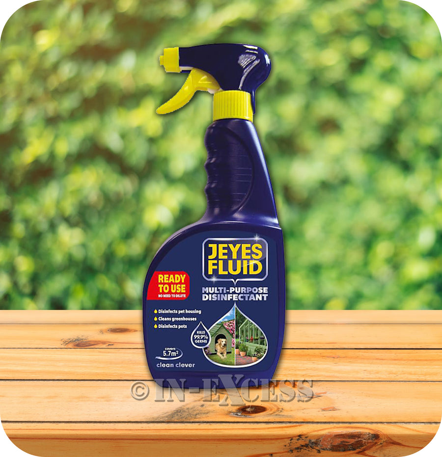 Jeyes Fluid Multi-Purpose Disinfectant Ready To Use Trigger Spray - 750ml