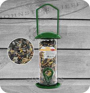 Johnston & Jeff Easy Pre-Filled Wild Bird Seed Feeder - 200g