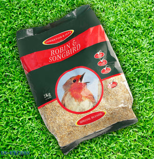 Johnston & Jeff Robin & Songbird Bird Food 2kg