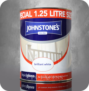 Johnstone's Liquid Gloss Brilliant White - 1.25 Litre