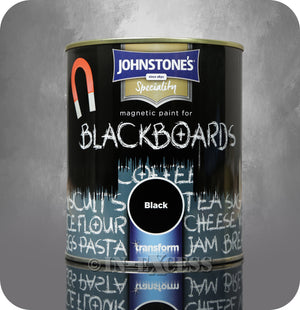 Johnstone's Speciality Magnetic Blackboard Paint 750ml