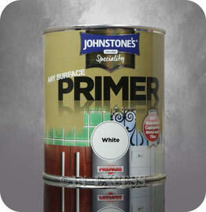 Johnstone's Speciality Any Surface Primer White - 750ml