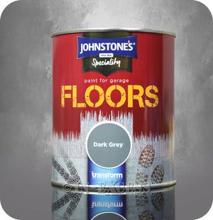 Johnstone's Speciality Paint for Garage Floors Dark Grey - 750ml