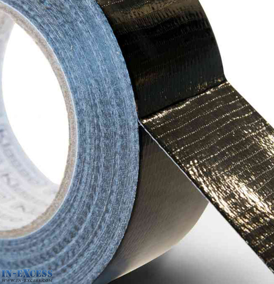 Klasse Cloth Gaffer Duct Tape 43mm x 50m - Black