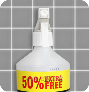 Kleeneze Grout & Tile Spray 'n' Stream Cleaner - 750ml Spray Bottle