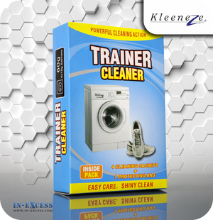 Kleeneze Trainer Cleaner - 4 Cleaning Sachets