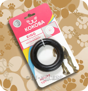 Kokoba Dog Ring Toy For Molar Biting & Chewing