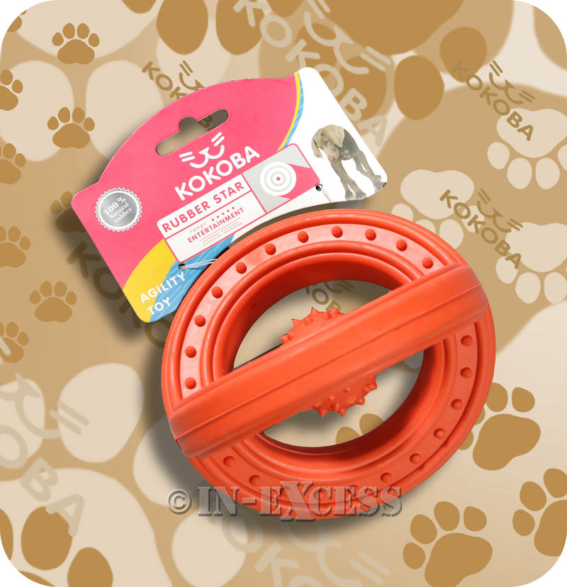 Kokoba Rubber Star Agility Training Dog Toy